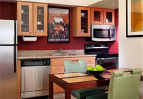 部屋のキッチン